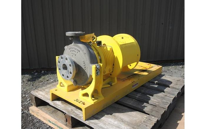 "USED CENTRIFUGAL PUMP, 2"" X 1"" INLET & OUTLET, STAINLESS STEEL"
