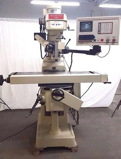 Used TRI-ONICS 3 Axis CNC Milling Machine 42 inch table 3HP Mill Miller NEEDS Z SCALE