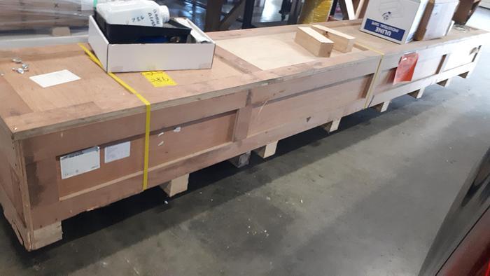 Used 2017 Hewlett-Packard Latex 1500 Dual Roll Kit