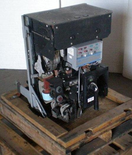 Used 600 volt / 1,200 amp ITE / Asea Brown Boveri Model KB Air type Circuit Breaker