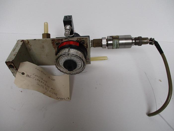 Used COURTOY R100 Controle précompres