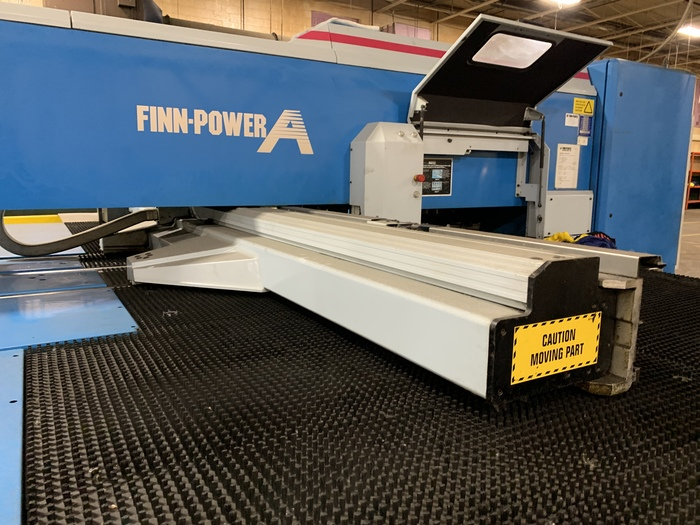 Turret punch press FINN-POWER A5-25