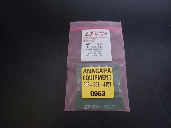 Linear Demo 1514A LT3479EFE Boost Inverting Regulator (963)