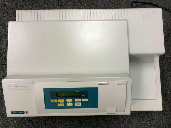 Used Spectra Max Plus 384 Microplate Absorbance Spectrophotometer