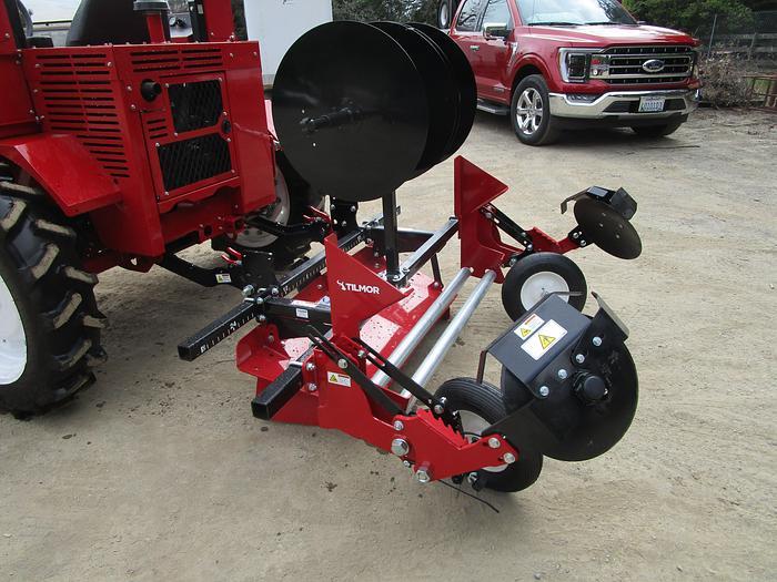 Tilmor Tractor Plastic Mulch Layer