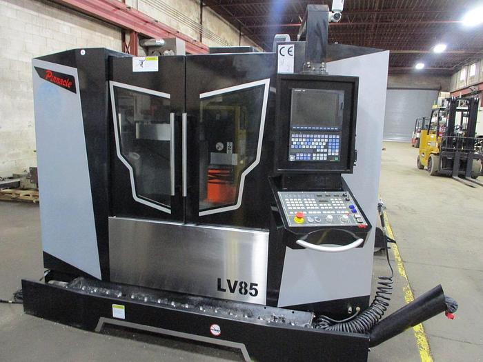 "Used 33""X, 22""Y, 22""Z, PINNACLE, LV85, 2017, CNC VERTICAL MACHINING CENTER"