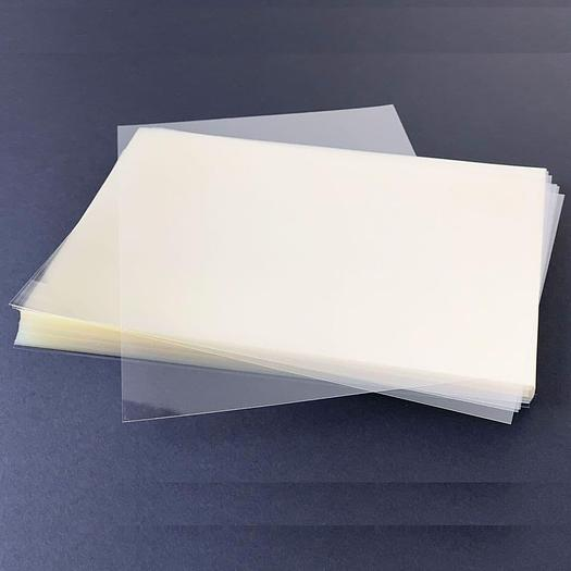 Bulk Pack PET Crystal Clear Protective Face Shield Sheets 175Micron (1000)