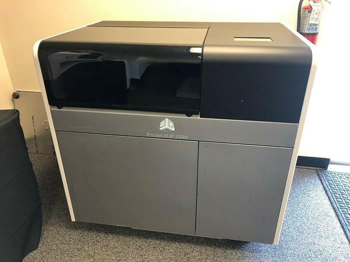 Used 2018 3D Systems ProJet MJP 2500 Plus