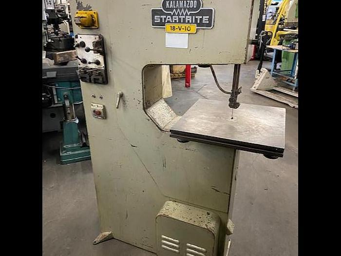 "Used Kalamazoo Startrite 18"" Vertical Multi Speed Bandsaw Model 18-V-10  Single or 3 Phase #5699 #5699"