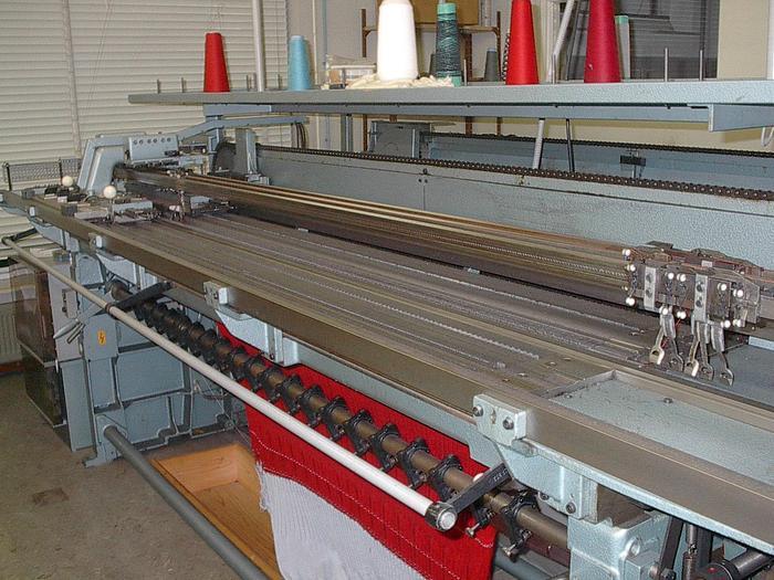 Gebraucht Links-Links Flachstrickmaschine  STOLL  LNC E08/205