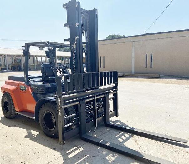 Used 2020 Toyota Rough Terrain Large Capacity Forklift