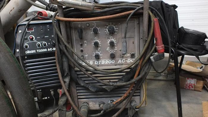 Used ESABDTB 200 AC DC Twin Tig 200 Welder