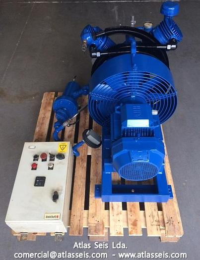 Used Sperre Air Compressor HL2/90 / 30 Bar / 34 m3/h / 9.9 KW