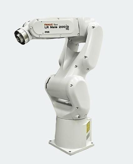 2017 FANUC  LR MATE 200ID/7C CLEAN ROOM 6 AXIS ROBOT WITH R30IB