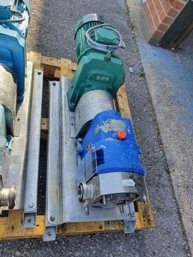"Used Johnson IC Range 2"" Rotary Lobe Pump"