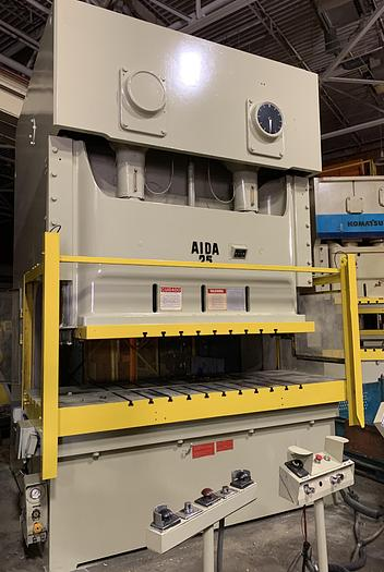 Used 275 ton AIDA 2pt. Gap Frame Press