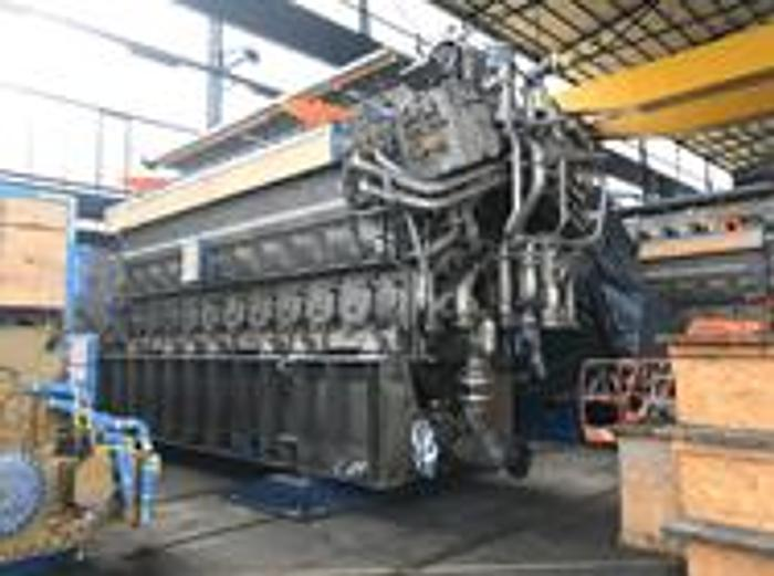 32.0 MW 2018 MAN 18V32/40 CD HFO Power Plant