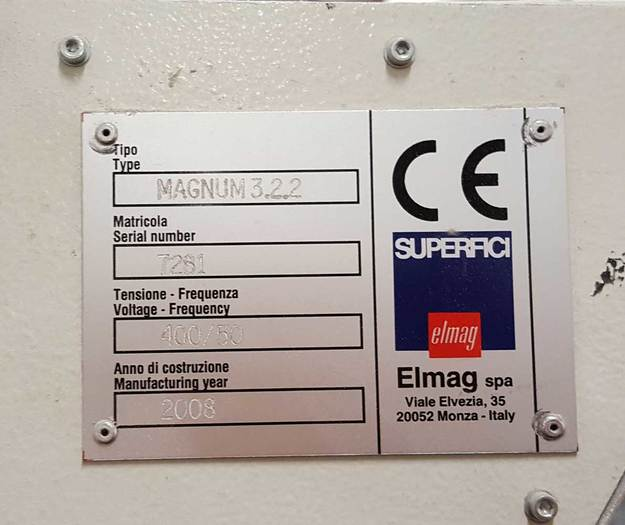 Spraying machine SUPERFICI MAGNUM 3.22,
