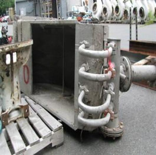 "Used DSM SCREEN A/L  CELLECO 72""  (1.83M) UNIFLOW HEADER 120 DEG. S/S"