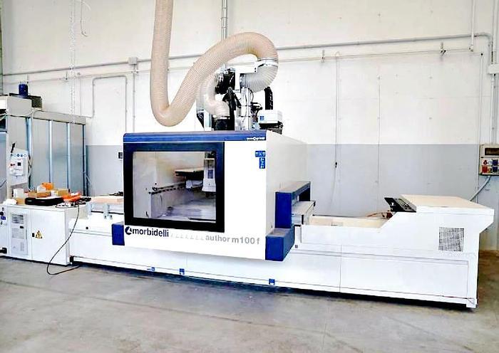 Used Morbidelli author M 100 - Nesting - CNC Machining center - 2018