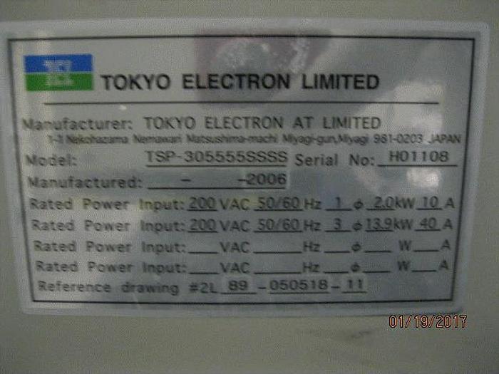 Used Dielectric Etch Telius SP-305 SCCM