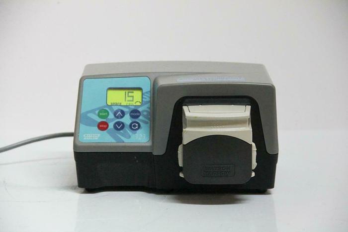 Used Watson-Marlow Peristaltic Pump 323E/D 400 RPM w/ Pump head 313DW (5738) g