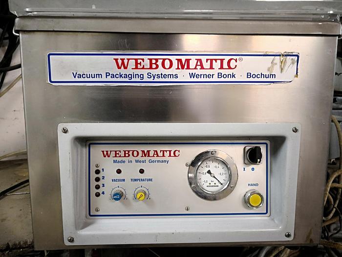 Używane 1-komorowa pakowaczka próżniowa firmy WEBOMATIC