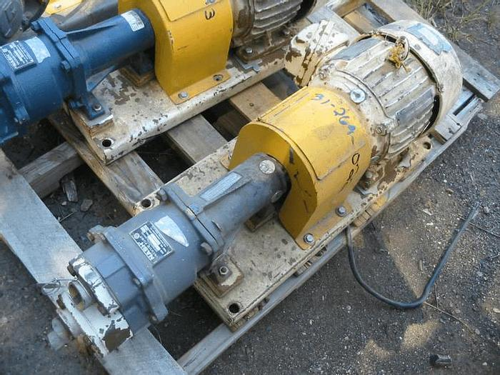 Used NASH AT-34 TWO STAGE LIQUID RING VACUUM PUMP – 3 HP