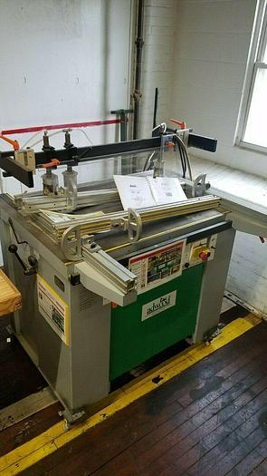 Used Detel Model M-29 Horizontal-vertical Boring Drilling Machine woodworking