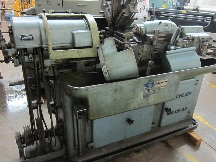 Used Bechler Model C-32 Swiss Screw Machine