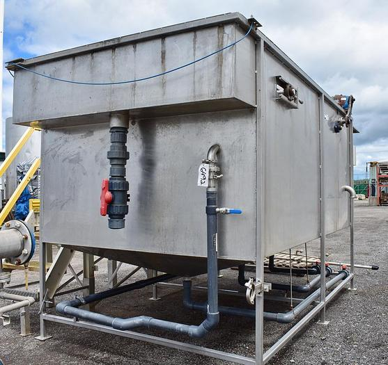 USED CLARIFIER / DAF SYSTEM, STAINLESS STEEL, 100 GPM