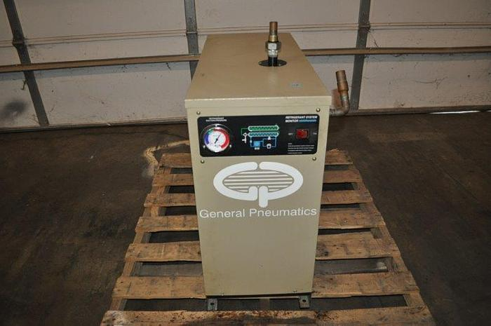 Used GENERAL PNEUMATICS REFRIGERATED COMPRESSES AIR DRYER
