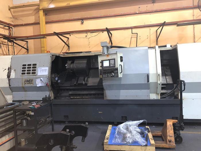Used 2011 FEMCO HL-55S-2500 CNC TURNING MACHINE