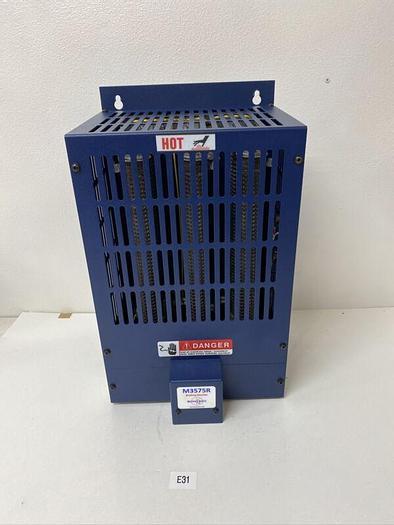 Used Preowned Bonitron Model M3575R-H24BF 60Hz 750 BDC Max 30 Ohm 25 Amp