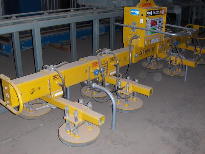 Used 6,000 lb. Anver Vacuum Type Sheet Lifter