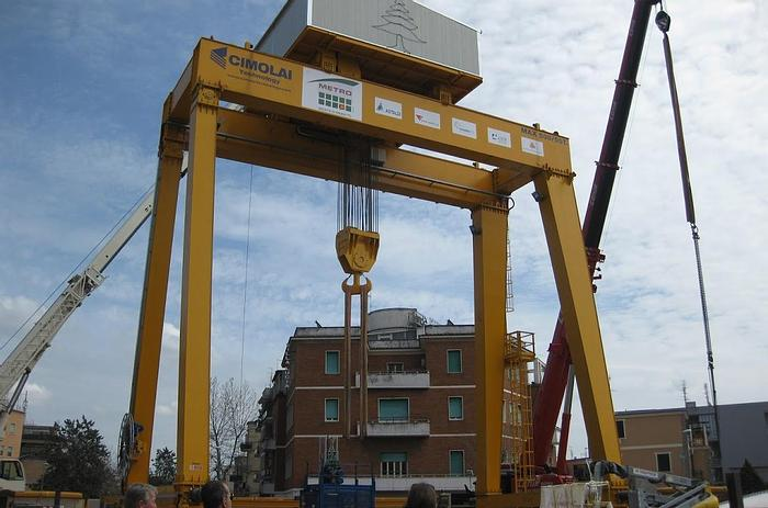 Usata 2009 Gru a Portale (cavalletto), CIMOLAI TECNOLOGY RCG018 500 Ton