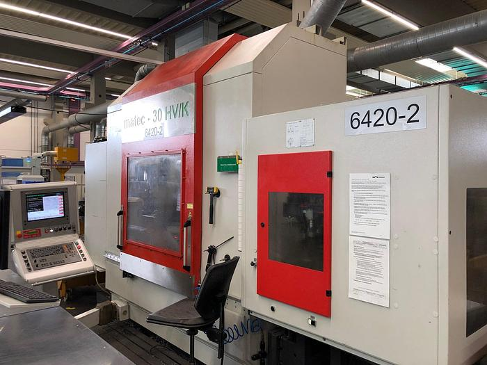 2008 5 Achsen CNC Bearbeitungszentrum MATEC 30 HV / K