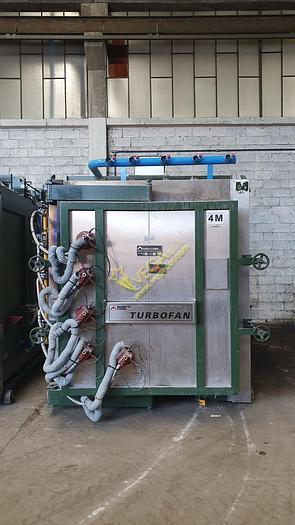 Used MUFFLED Gas turbo Kiln MORETTI mod. FDTM4