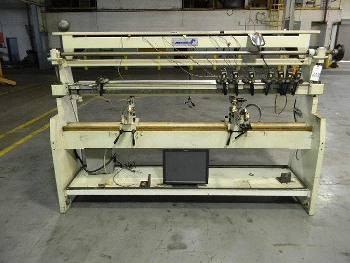 Used J.M. Heaford Plate Mounter, Model# WW Cobra 2305