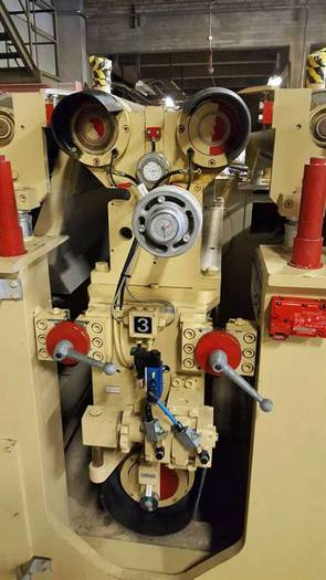 2007 BINOS WBS 4 26-2F -1300 Double-sided Calibration Sanding Machine