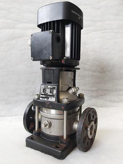 Gebraucht Kreiselpumpe, CRN1S-2 A-FGJ-G-E-HQQE, 12,3m, 0,9m3/h, Grundfos,  gebraucht - überholt