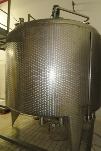 AHRENS & BODE 6500l STAINLESS STEEL TANK