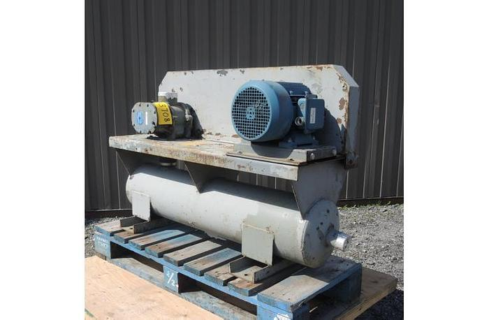 "USED ROTARY LOBE BLOWER, 40 CFM, 2.5"" INLET & OUTLET"