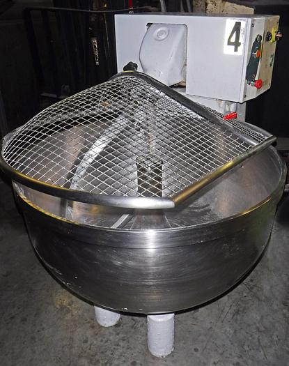 Used USED RHEBUS SPIRAL MIXER WITH BOWL GUARD, MODEL 2000