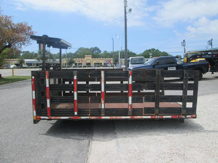 Used 12' Flat Bed Stake Body Truck Bed