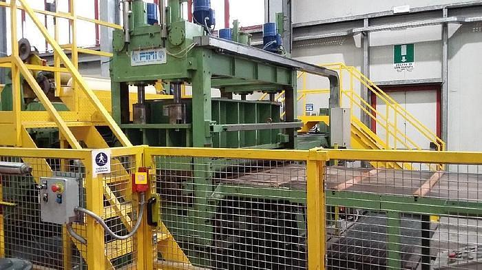 Used 1500mm x 3.0mm Cut-To-Length Line: CTL-144