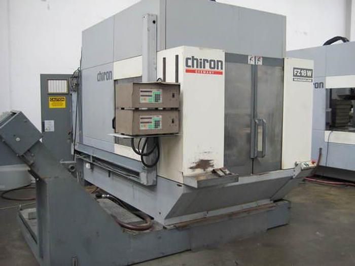 Usata Chiron FZ18W 4 axis