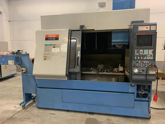 Used MV43 Mazak FJV 25