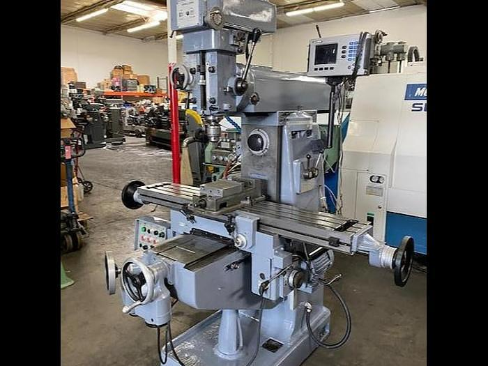 Used SHARP MODEL VH2 VERTICAL / HORIZONTAL MILLING MACHINE #5656