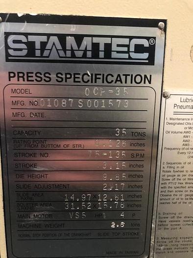 Stamtec OCP 35S